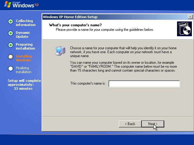 How to Install Windows XP Page 4